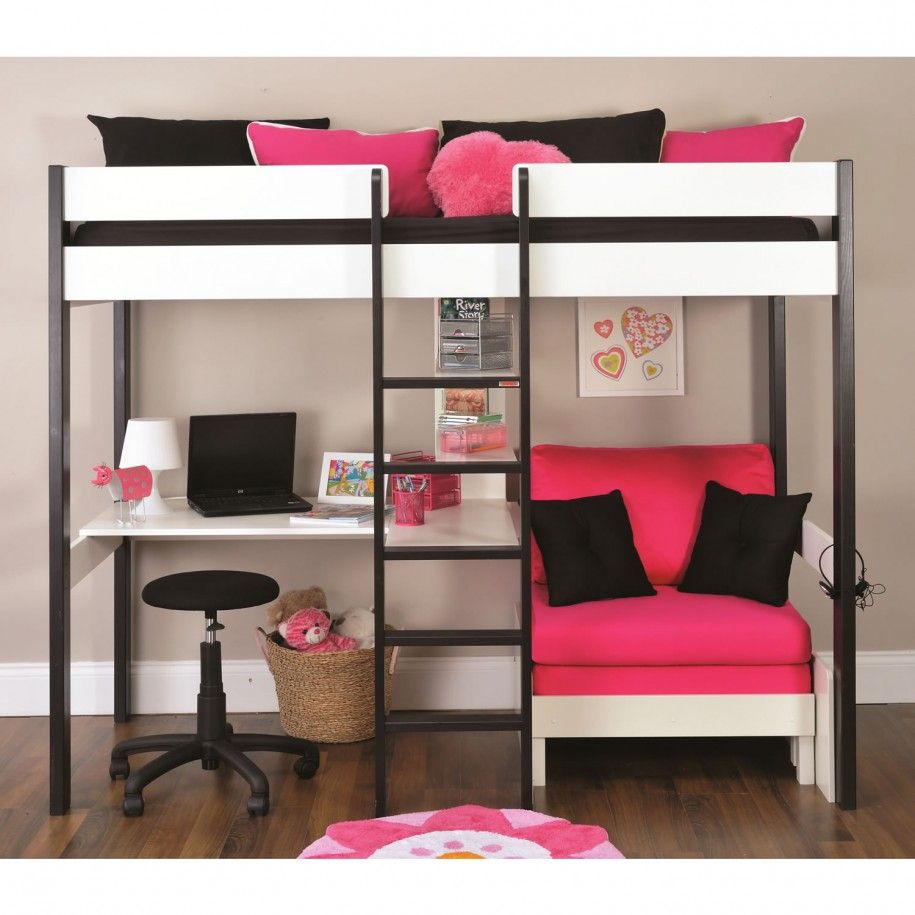 Bunk beds with lounge space and desk google search