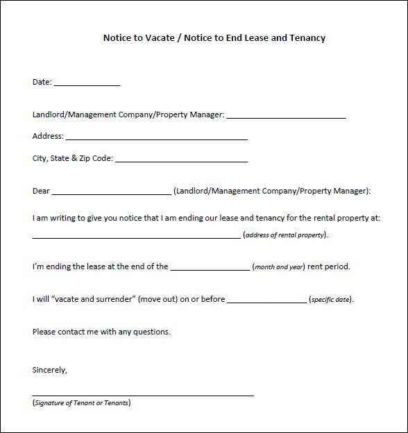 10+ Eviction Notice Templates - free Download for PDF, Word - notice form in word