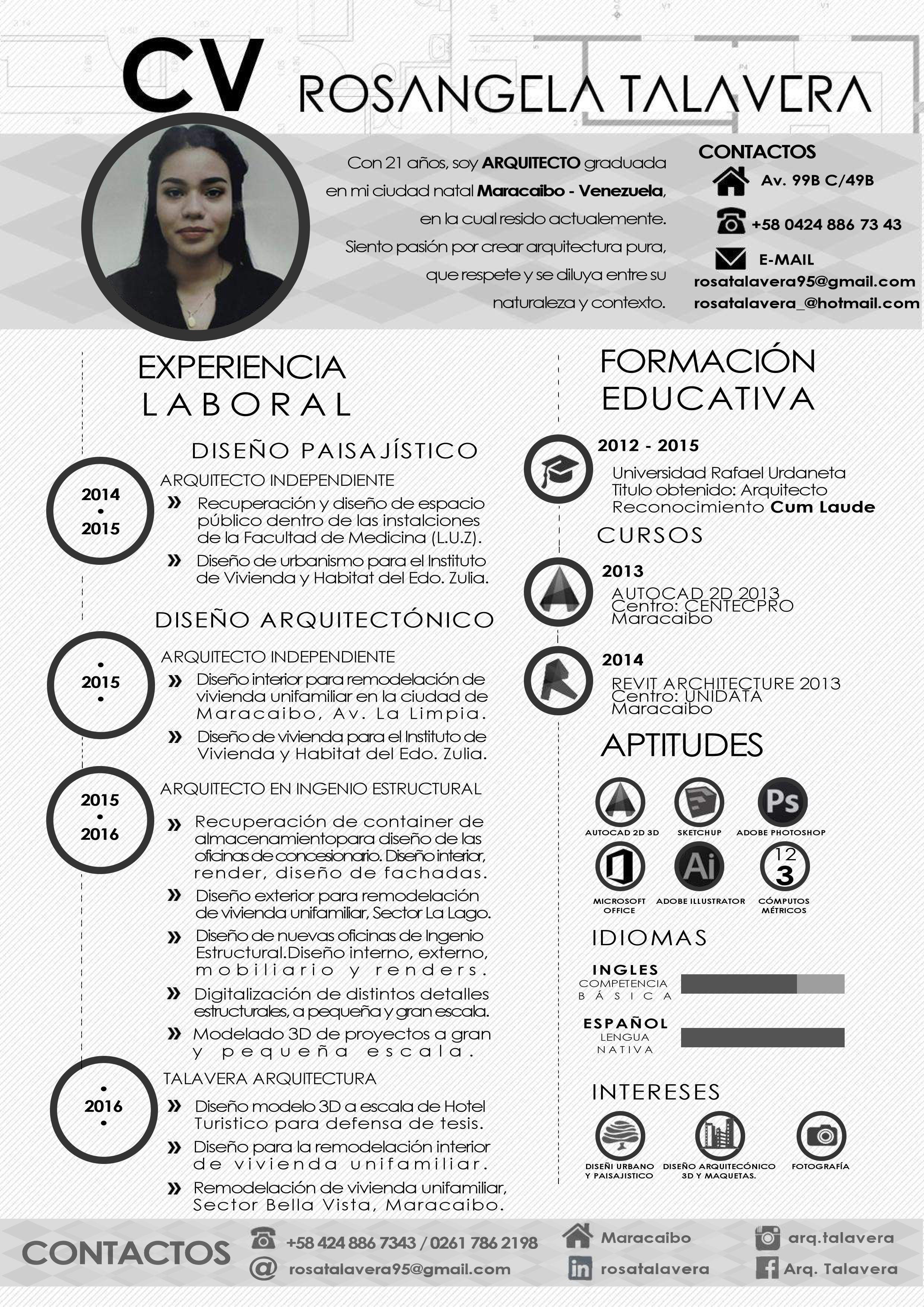 cv en espanol modelo