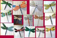 fan blade dragonflies, table leg dragonflies | Crafts ...