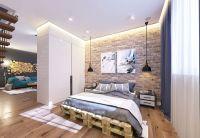 22 Mind Blowing Loft-Style Bedroom Designs   Industrial ...