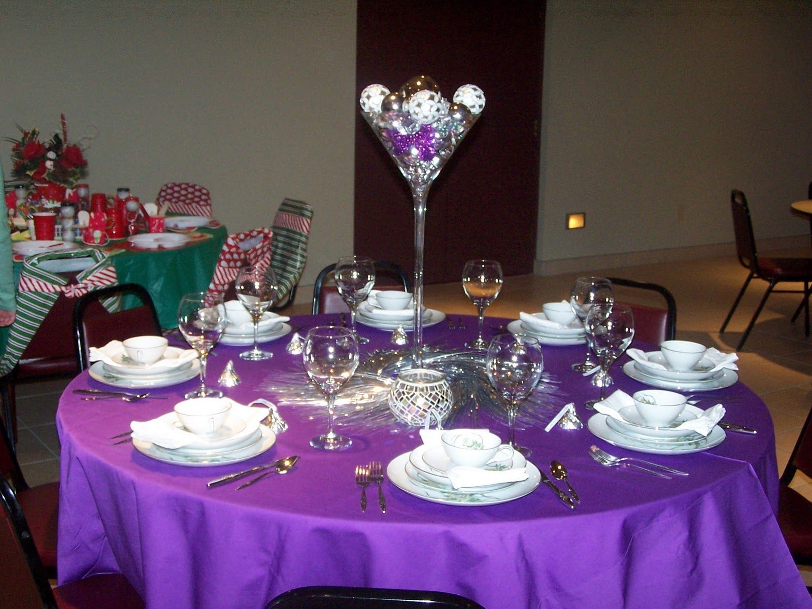 Christmas Tables Decorated Pictures Of Pastor Anniversary Decor Table Decorated By