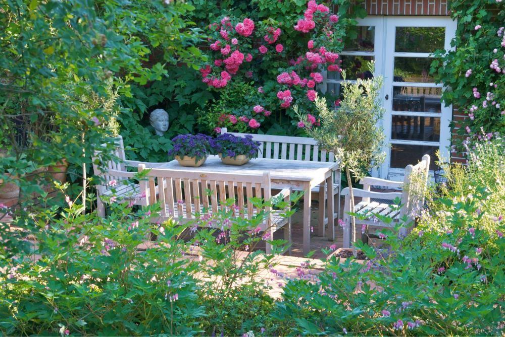 10 tolle Deko-Ideen für den Landhausgarten Gardens - tolle ideen fur den garten