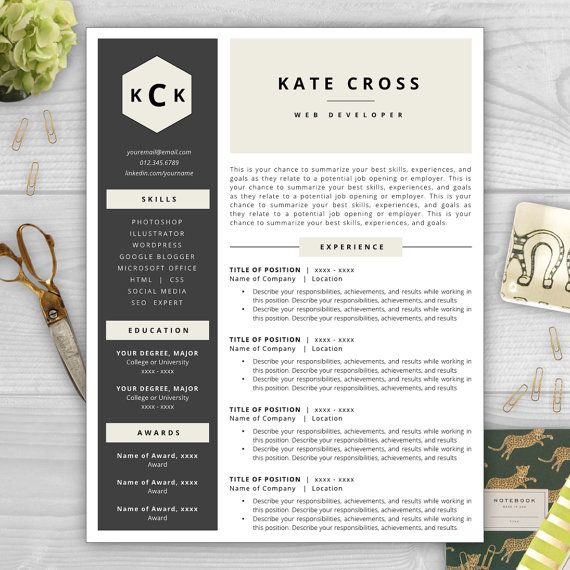 Make your résumé stand out with a beautiful and professional - stand out resume templates