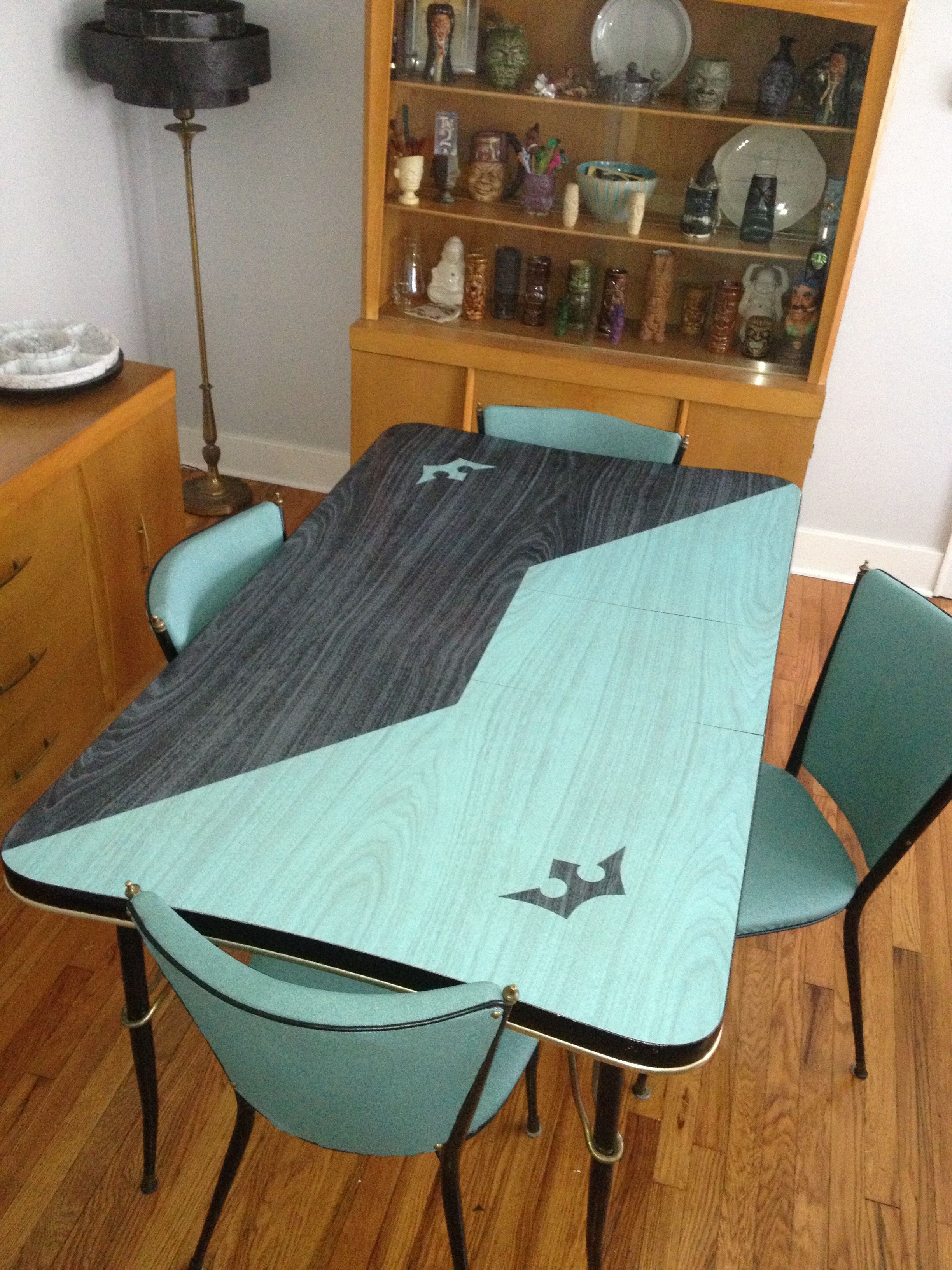 teal kitchen chairs Tables