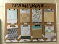Lds church bulletin board. Church announcements. Neat and