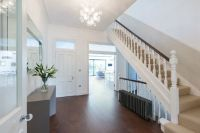 Wide entrance hall, stairs and landings in modernised ...
