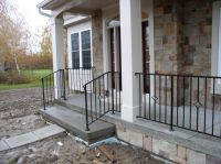 Wrought Iron Porch Railings | Custom Metal & Wrought Iron ...