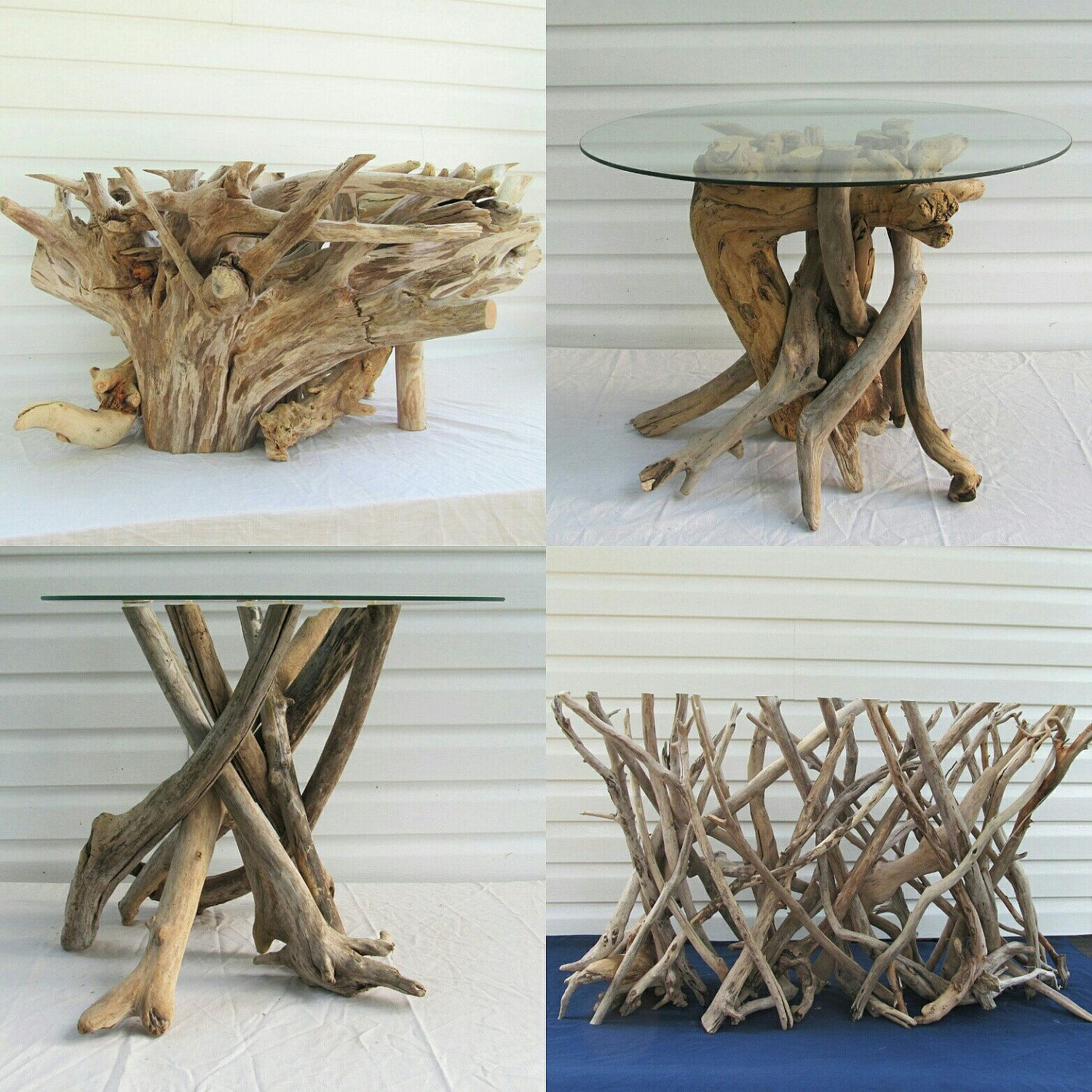 Rustic Beach Coffee Table Driftwood Coffee Table Base Driftwood Table Driftwood