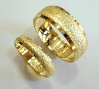 16 Wedding bands set gold wedding rings for men and women ...