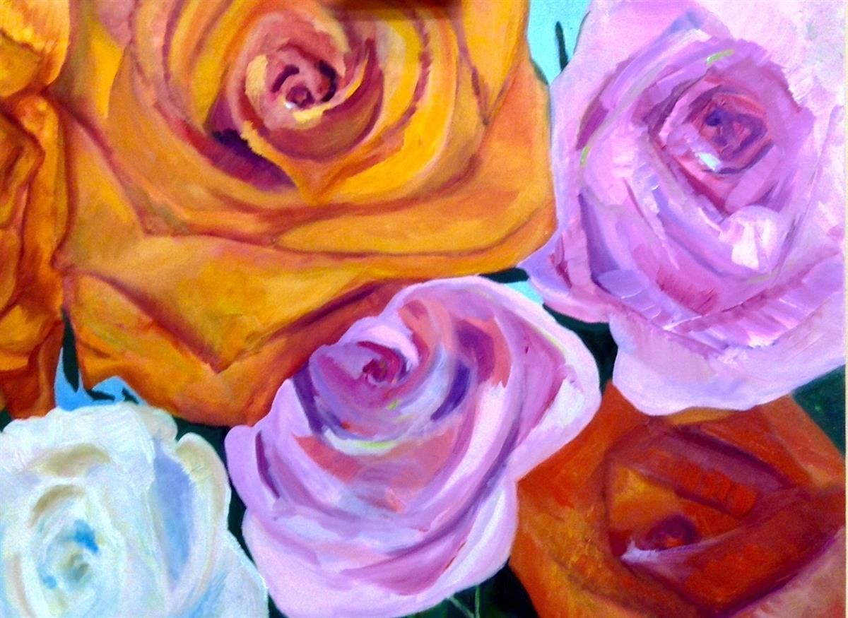 Arte Bella Gallery Roses By Dani Ashbridge At Bella Arte Gallery Show Objects Of