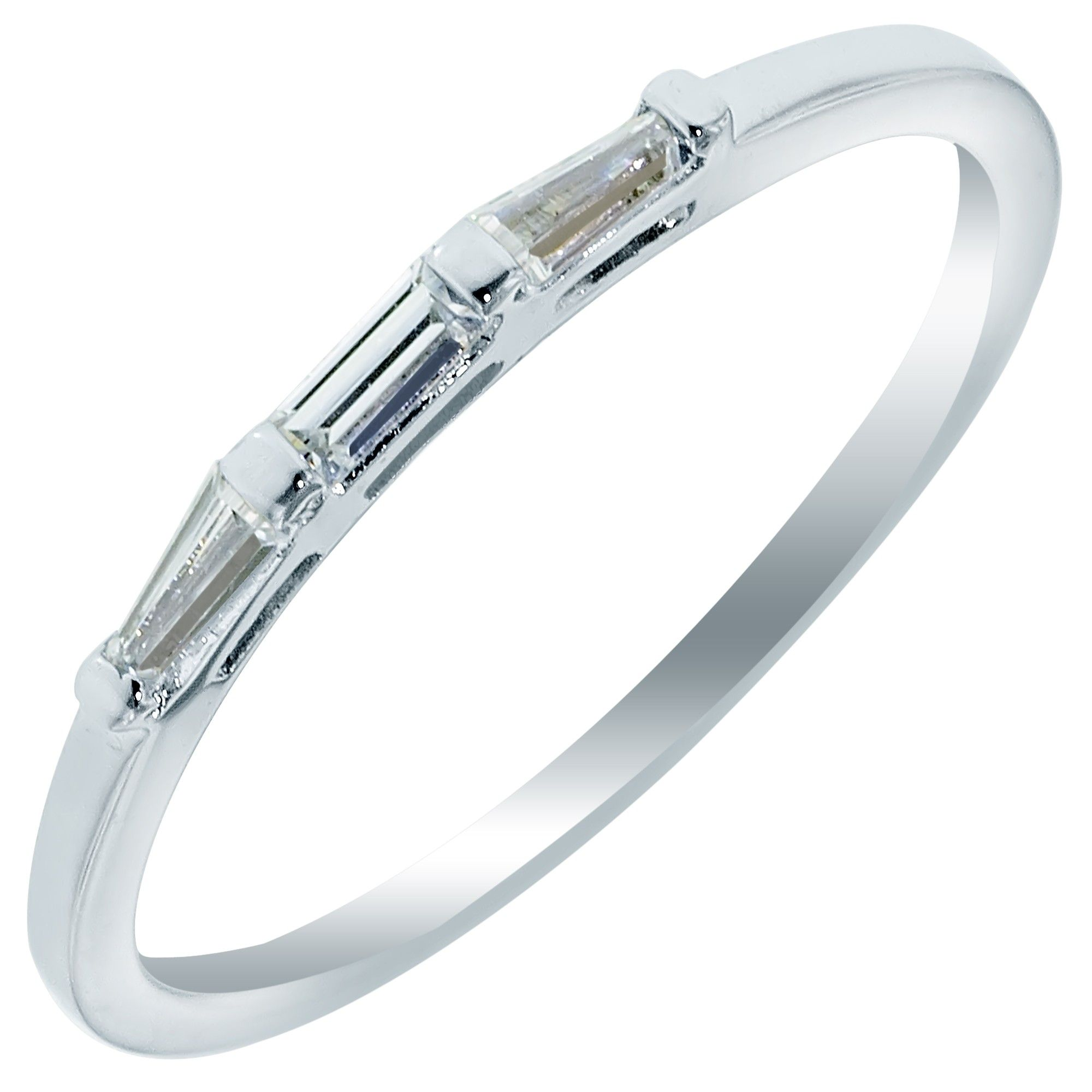 3 band wedding ring Wedding rings for women Looking for a band that is simple but show stopping Then check out this 3