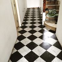 Karndean Knight Tile Black and White Marble | kitchen ...