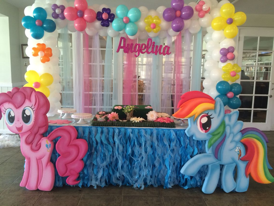 Dekoration Party My Little Pony Birthday Decoration Party Decoration