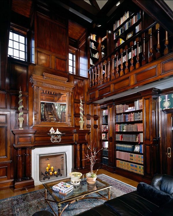 62 Home Library Design Ideas With Stunning Visual Effect Wooden - home library ideas