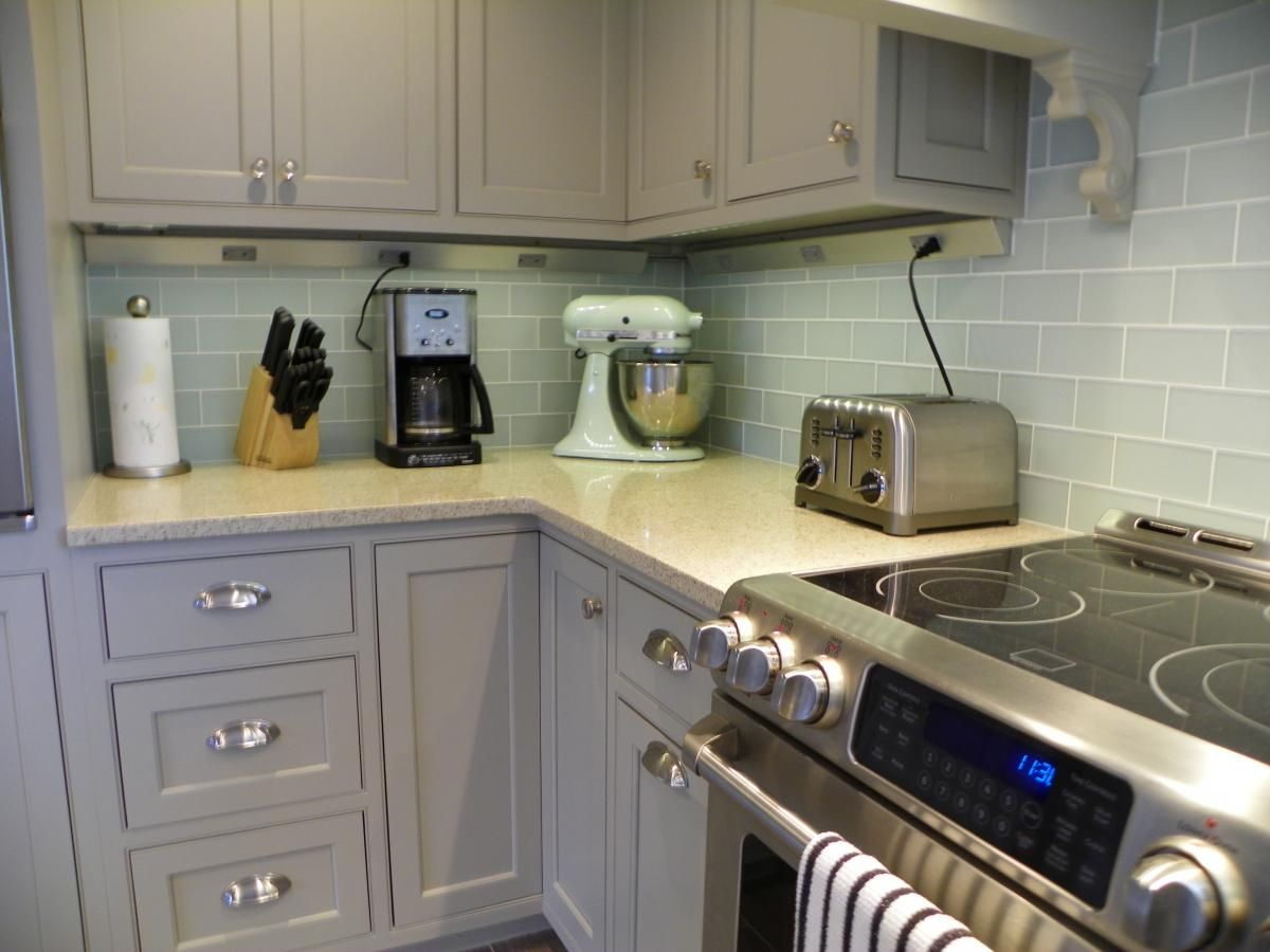 Kitchen Backsplash Ideas Using Wallpaper Kitchen Glass Subway Tile Kitchen Backsplash Cheerful Grey