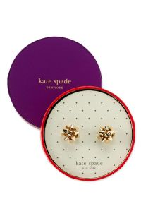 kate spade - 'bourgeois bow' stud earrings | { Jewelry ...