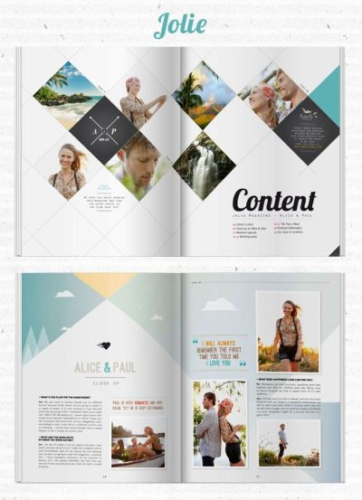 Content Page on Pinterest