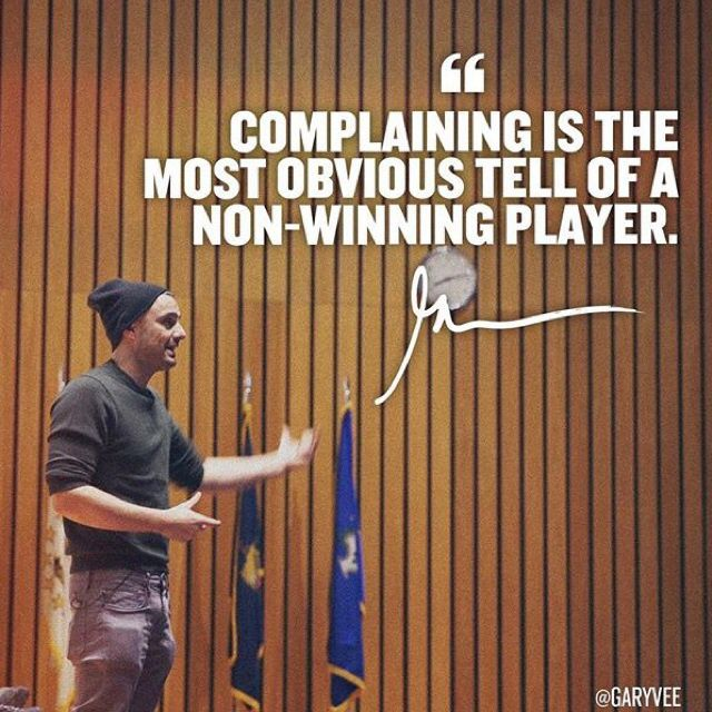 Gary Vee Iphone Wallpaper Gary Vaynerchuk Quote Complaining Is The Most Obvious