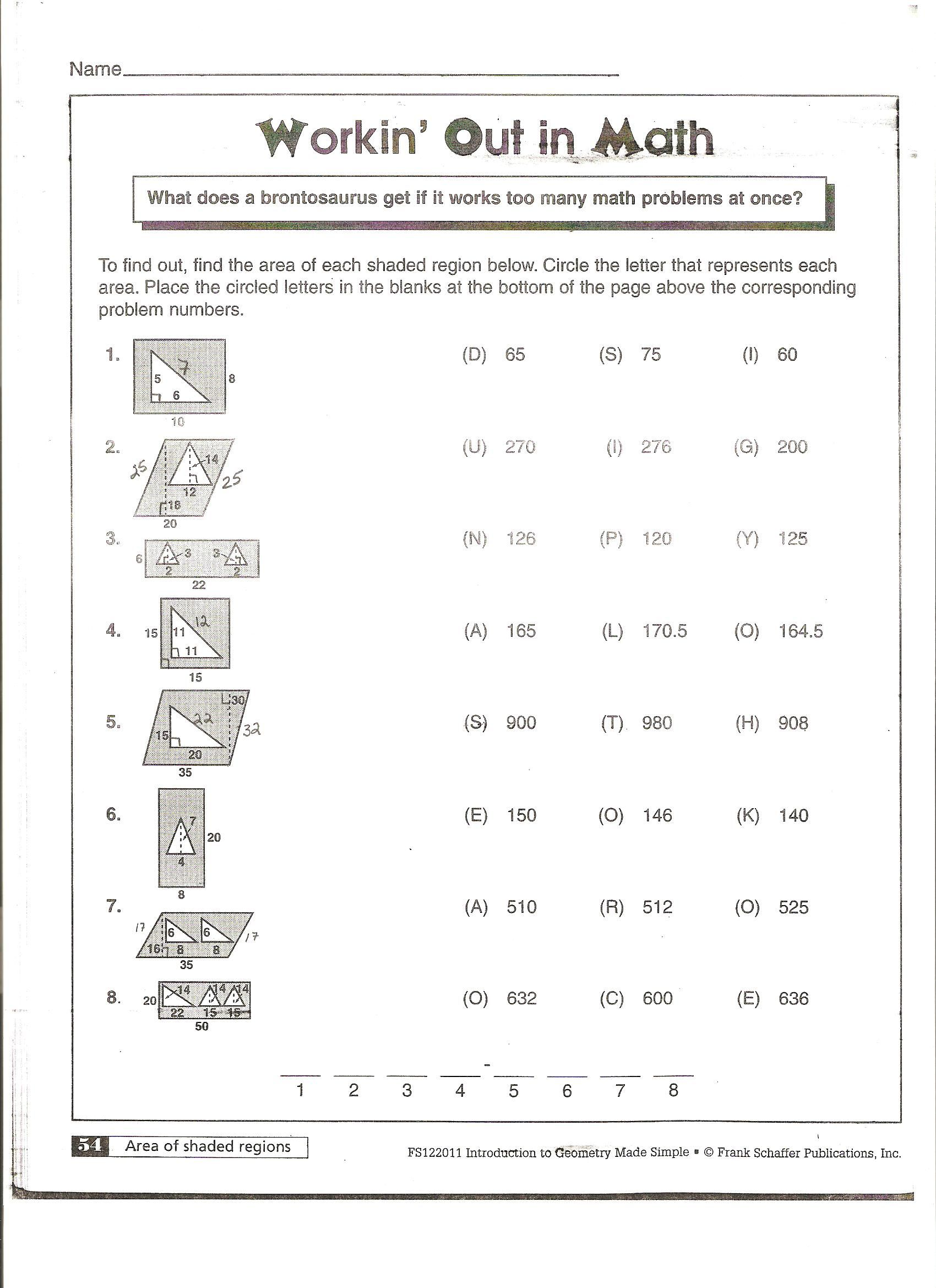 Area And Circumference Of A Circle Ppt – Circumference and Area of a Circle Worksheet