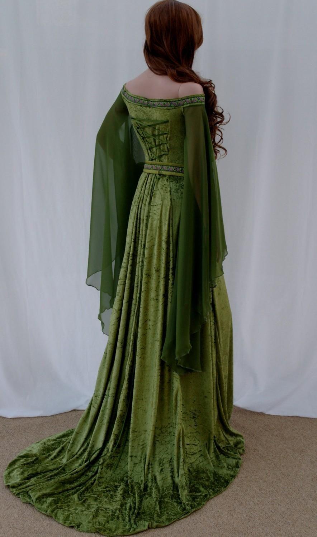 etsy wedding dresses Popular items for celtic wedding dress on Etsy
