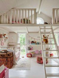 Vaulted ceiling loft space | Boys room | Pinterest | Loft ...