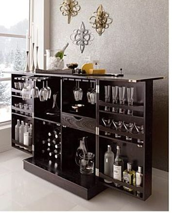 The Steamer Bar Cabinet and Wine Storage by Crate » Furniture - living room bar furniture