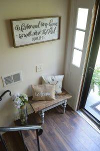 Split foyer entryway | Urban Farmhouse | Pinterest | Split ...