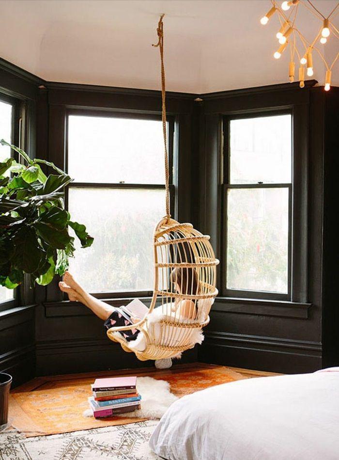 hängesessel mit gestell schlafzimmer ideen Nest Pinterest - ideen schlafzimmer