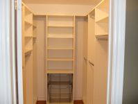 Bedroom designs with walk-in closets and closet organizing ...