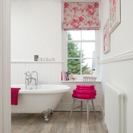 Wohnideen Badezimmer hell rosa königlich Foto - Jeremy Philips - badezimmer pink