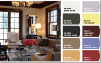 stained trim and wall color | Best Wall Colors For Stained ...