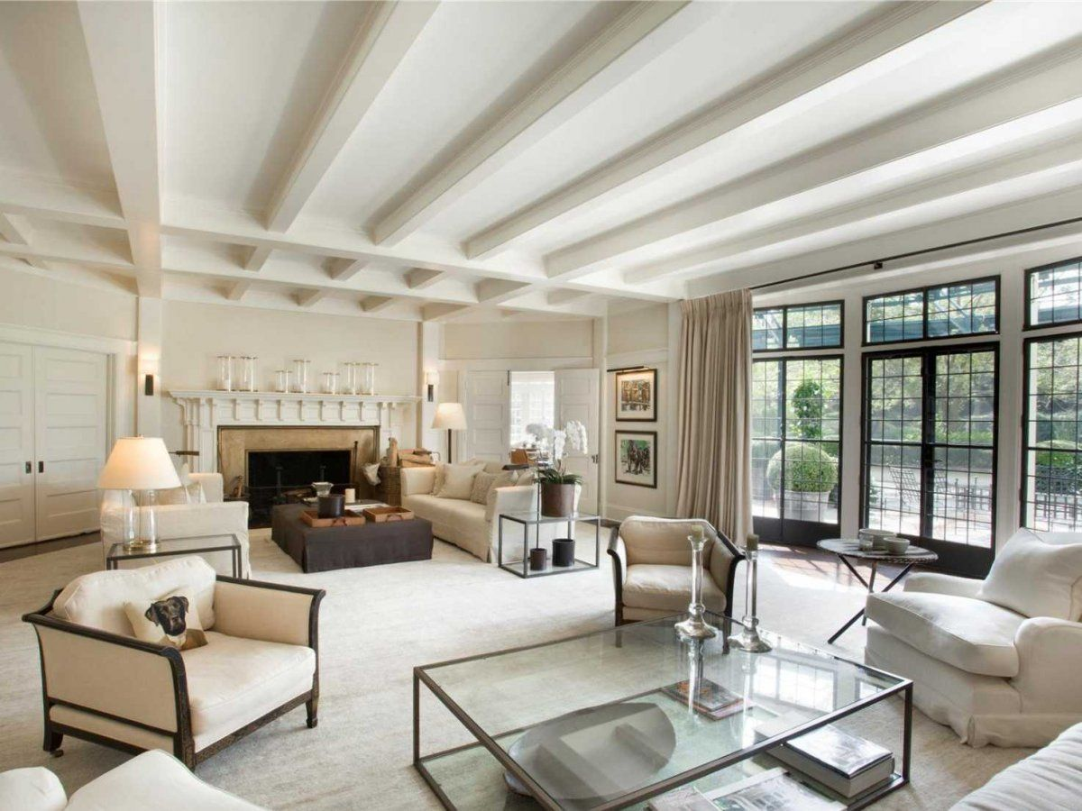 Hampton Style Living Room Hamptons Luxury Lifestyle The Principal Living Room Is A