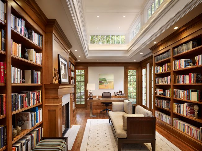 Kingdom driven library - lending library ideas by Andrea Schwartz - home library design