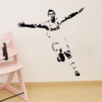 Soccer Wall Sticker Football Player Decal Sports ...