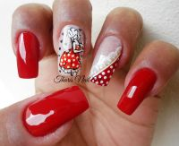 Pin Up Nail Art | Best Nail Designs 2018