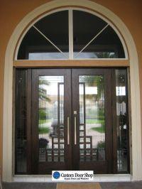 Unique and modern front doors with art deco design. Custom ...