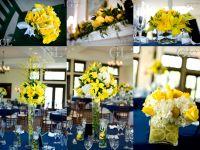 Navy And Yellow Wedding Decorations | yellow wedding ...