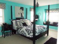elegant teal and black bedrooms | Furniture, Elegant Girls ...