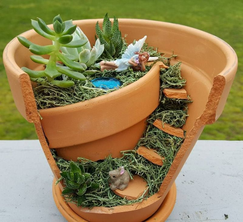 Large Of Fairy Gardens In Pots