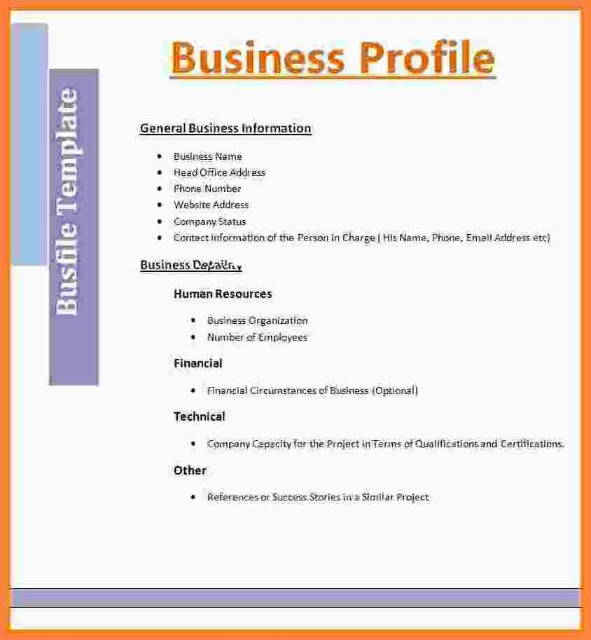 Image result for construction company business profile Company - business profile template