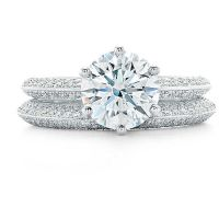 Pav Tiffany Setting Engagement Rings | Tiffany & Co ...