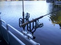 Homemade Trolling Rod Holders For Boat  Homemade Ftempo
