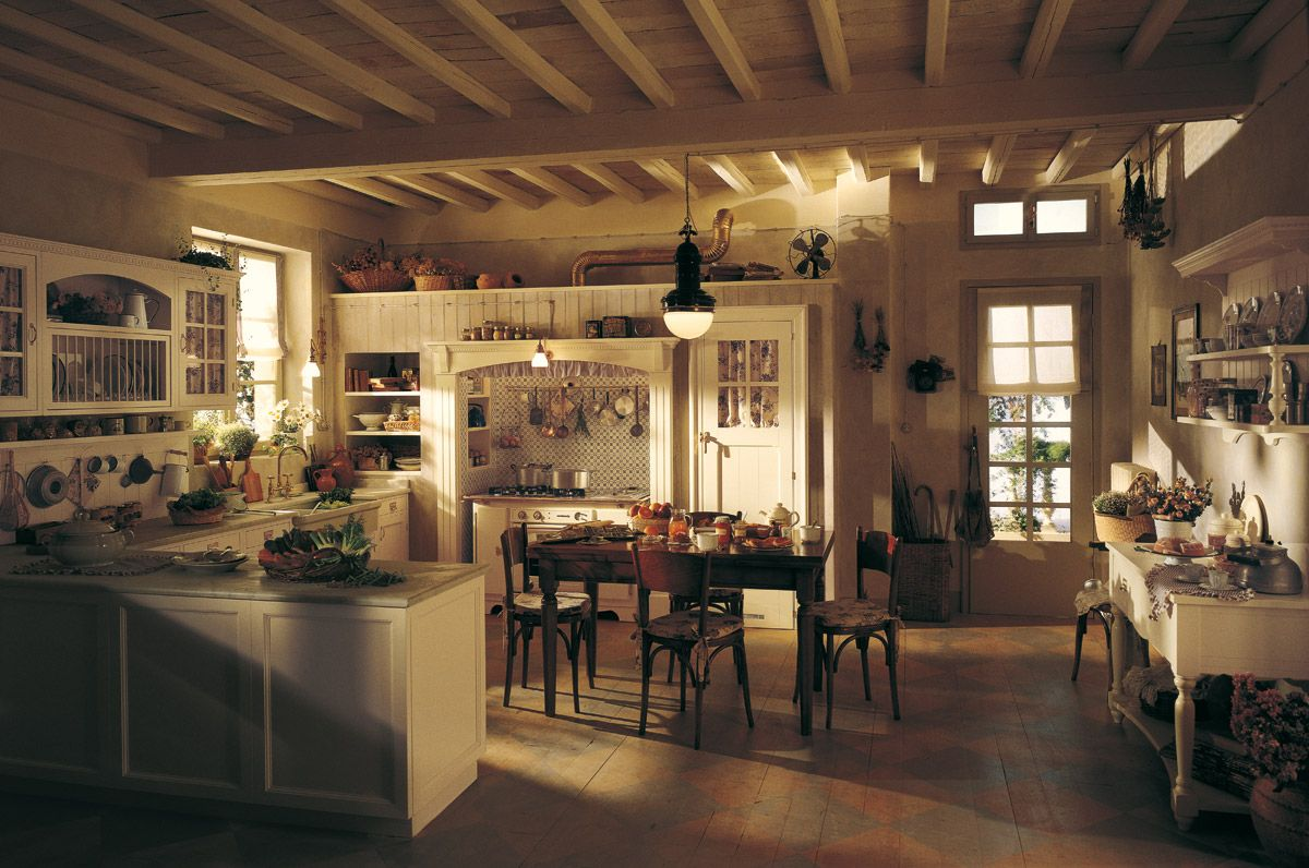 In Cucina In English Marchi Group Old England Cucina Country Chic Cucina