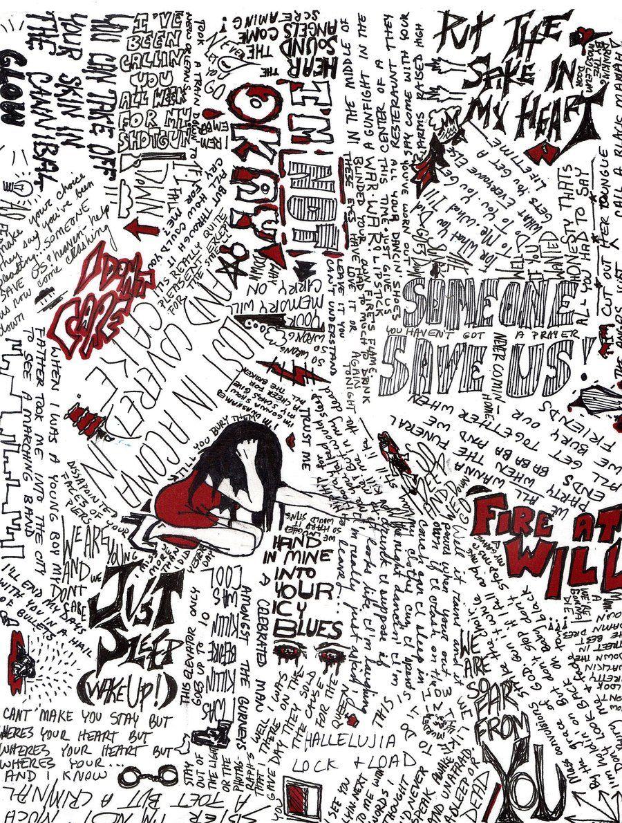 Jack Barakat Quotes Wallpaper My Chemical Romance Lyrics By Blue Eyed Darling Deviantart