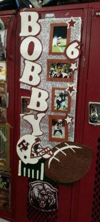 Football locker decoration | Football Locker decoration ...