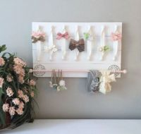 Hair Bow Holder Hair Bow Organizer Headband Holder ...