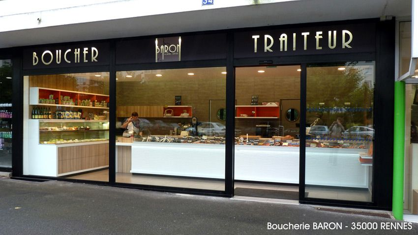 Decoration Magasin Boucherie Agencement Boucherie Traiteur Charcuterie Boucher