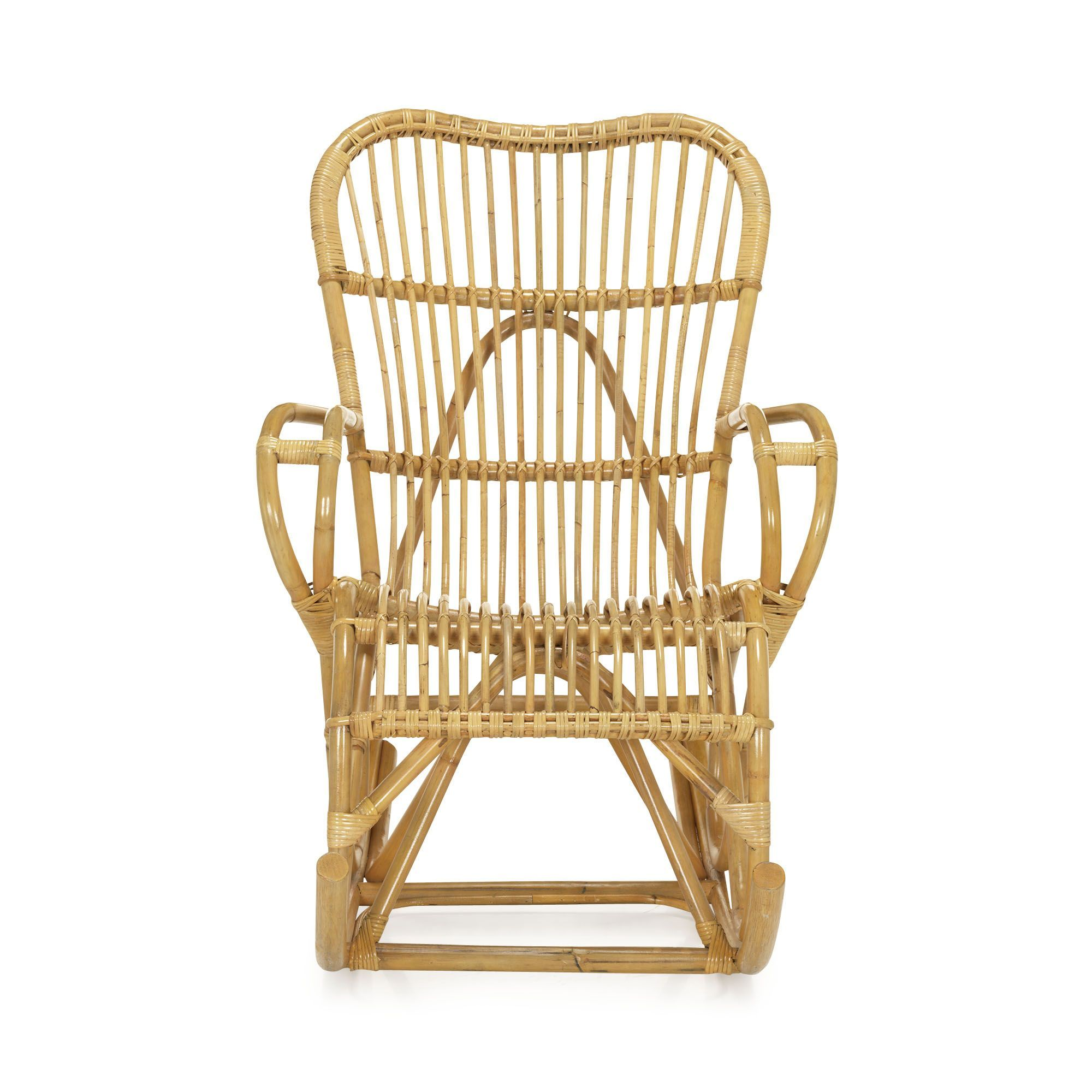 Fauteuils Rocking Chair Fauteuil Rocking Chair En Rotin Naturel Naturel Tristan