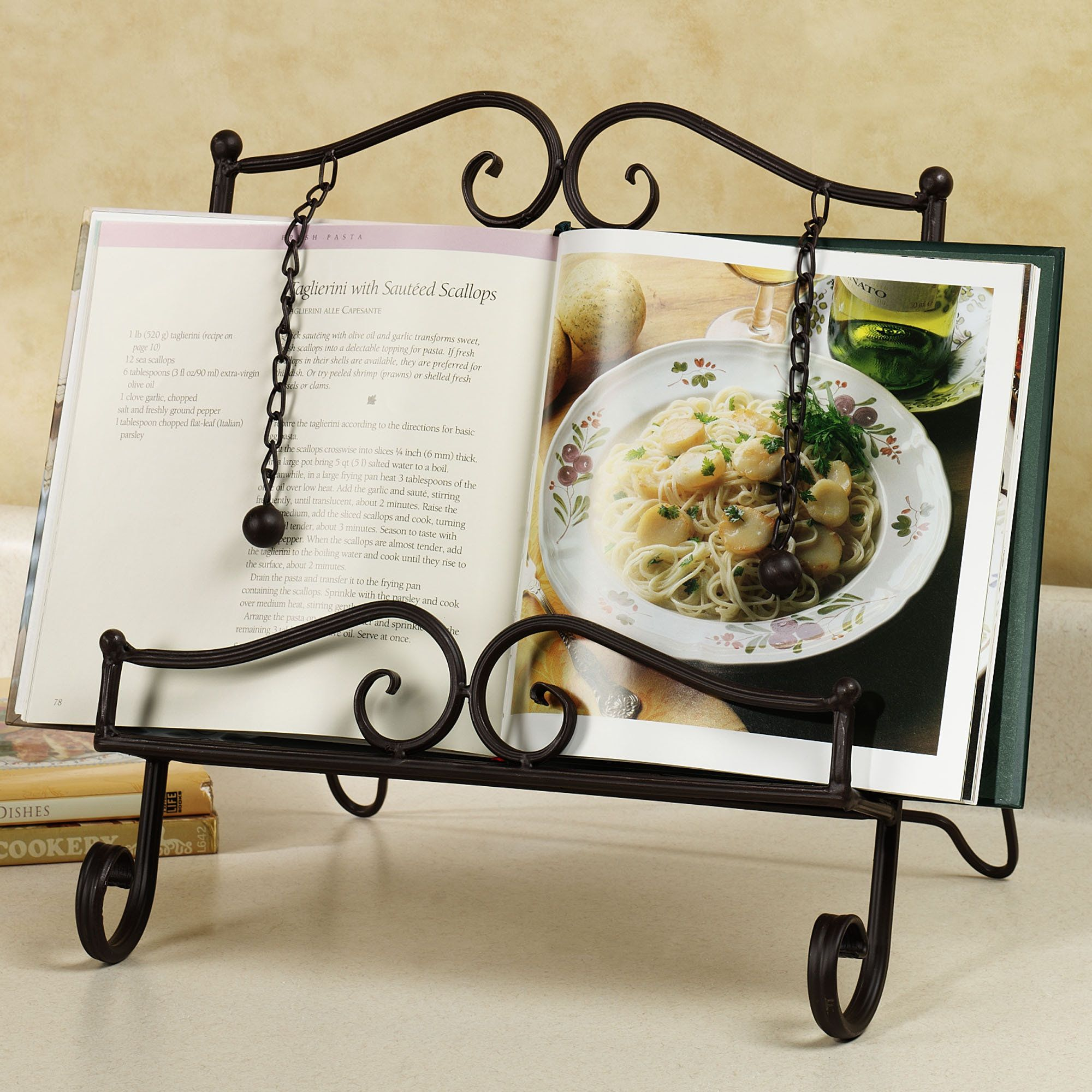 Book Holding Stand Townsend Cookbook Stand Iron Wrought Iron And Blacksmithing